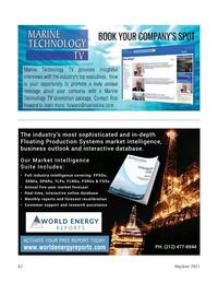 Marine Technology Magazine, page 62,  May 2021