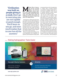 Marine Technology Magazine, page 19,  Jul 2021