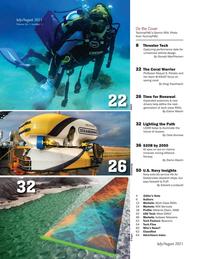 Marine Technology Magazine, page 2,  Jul 2021