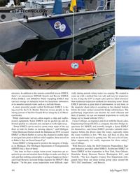 Marine Technology Magazine, page 44,  Jul 2021