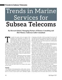 Marine Technology Magazine, page 46,  Jul 2021