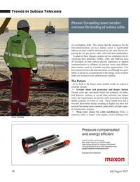Marine Technology Magazine, page 48,  Jul 2021