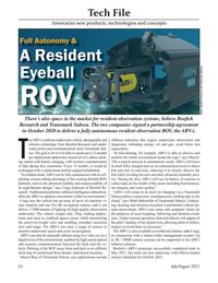 Marine Technology Magazine, page 54,  Jul 2021