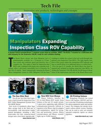 Marine Technology Magazine, page 56,  Jul 2021