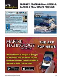 Marine Technology Magazine, page 63,  Jul 2021
