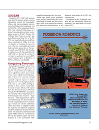Marine Technology Magazine, page 13,  Sep 2021