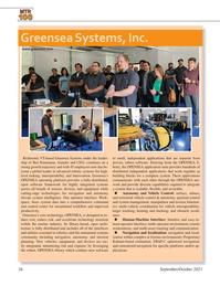 Marine Technology Magazine, page 26,  Sep 2021