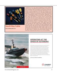 Marine Technology Magazine, page 31,  Sep 2021