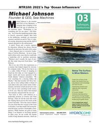 Marine Technology Magazine, page 41,  Sep 2021
