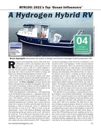 Marine Technology Magazine, page 43,  Sep 2021