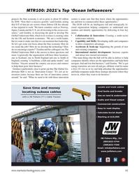 Marine Technology Magazine, page 45,  Sep 2021