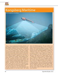 Marine Technology Magazine, page 48,  Sep 2021