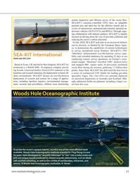 Marine Technology Magazine, page 55,  Sep 2021