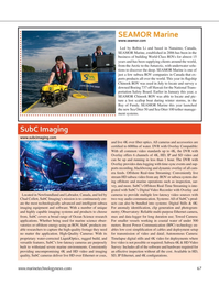 Marine Technology Magazine, page 67,  Sep 2021