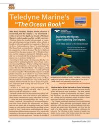 Marine Technology Magazine, page 68,  Sep 2021