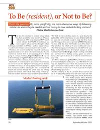 Marine Technology Magazine, page 70,  Sep 2021