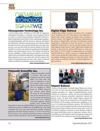Marine Technology Magazine, page 74,  Sep 2021