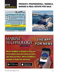 Marine Technology Magazine, page 79,  Sep 2021