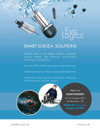 Marine Technology Magazine, page 3rd Cover,  Sep 2021