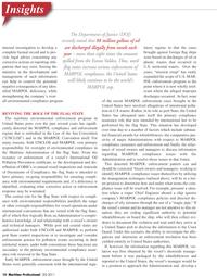 Maritime Logistics Professional Magazine, page 10,  Q2 2011 Exxon