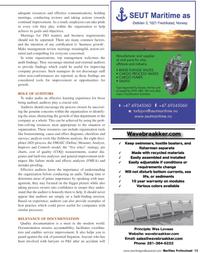 Maritime Logistics Professional Magazine, page 13,  Q2 2011 8D