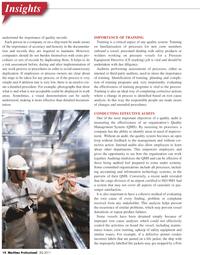 Maritime Logistics Professional Magazine, page 14,  Q2 2011 safety equipment