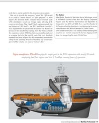 Maritime Logistics Professional Magazine, page 19,  Q2 2011 Maritime Administration