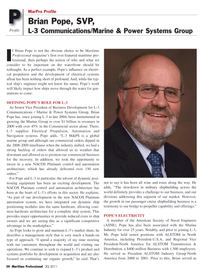 Maritime Logistics Professional Magazine, page 24,  Q2 2011 electrical systems