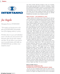 Maritime Logistics Professional Magazine, page 28,  Q2 2011 United States