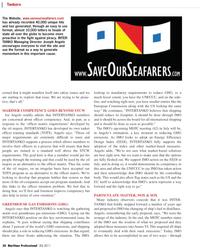 Maritime Logistics Professional Magazine, page 30,  Q2 2011 European Union