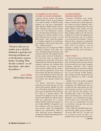 Maritime Logistics Professional Magazine, page 48,  Q2 2011 Lars Rinde