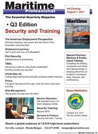 Maritime Logistics Professional Magazine, page 49,  Q2 2011