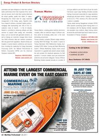 Maritime Logistics Professional Magazine, page 62,  Q2 2011 Offshore bridge solutions