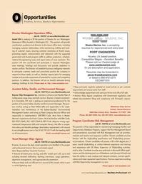 Maritime Logistics Professional Magazine, page 63,  Q2 2011 Texas