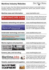 Maritime Logistics Professional Magazine, page 5,  Q2 2011