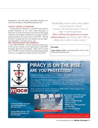 Maritime Logistics Professional Magazine, page 11,  Q3 2011 America