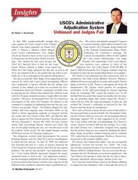 Maritime Logistics Professional Magazine, page 12,  Q3 2011 Congress