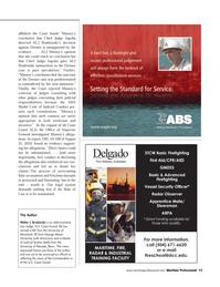 Maritime Logistics Professional Magazine, page 13,  Q3 2011 George Mason University