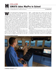 Maritime Logistics Professional Magazine, page 20,  Q3 2011 Joe Keefe