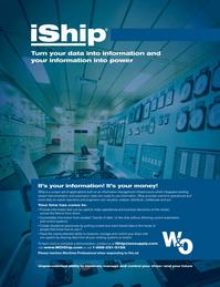Maritime Logistics Professional Magazine, page 1,  Q3 2011