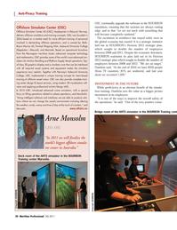 Maritime Logistics Professional Magazine, page 30,  Q3 2011 3D graphics