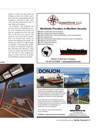 Maritime Logistics Professional Magazine, page 31,  Q3 2011 Asia