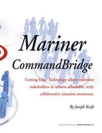 Maritime Logistics Professional Magazine, page 33,  Q3 2011