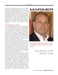 Maritime Logistics Professional Magazine, page 35,  Q3 2011 Command Center
