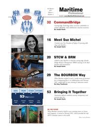 Maritime Logistics Professional Magazine, page 2,  Q3 2011 Michel Crowley