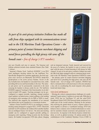 Maritime Logistics Professional Magazine, page 43,  Q3 2011 VSAT