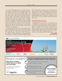 Maritime Logistics Professional Magazine, page 45,  Q3 2011 broadband network
