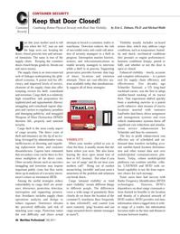 Maritime Logistics Professional Magazine, page 46,  Q3 2011 LAN