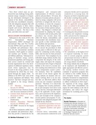 Maritime Logistics Professional Magazine, page 50,  Q3 2011 energy plat