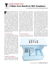 Maritime Logistics Professional Magazine, page 51,  Q3 2011 oil